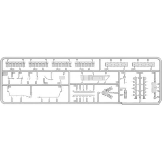 MINIART 37025 - V-55 ENGINE FOR T-55 TANKS FAMILY PLASTIC MODELS KIT 1/35 SCALE