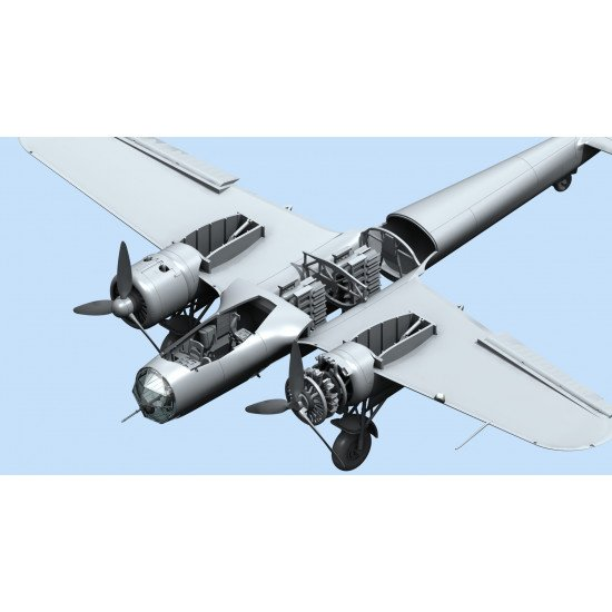Do 17Z-2, WWII Finnish Bomber PLASTIC AIRCRAFT KIT SCALE 1/72 ICM 72308
