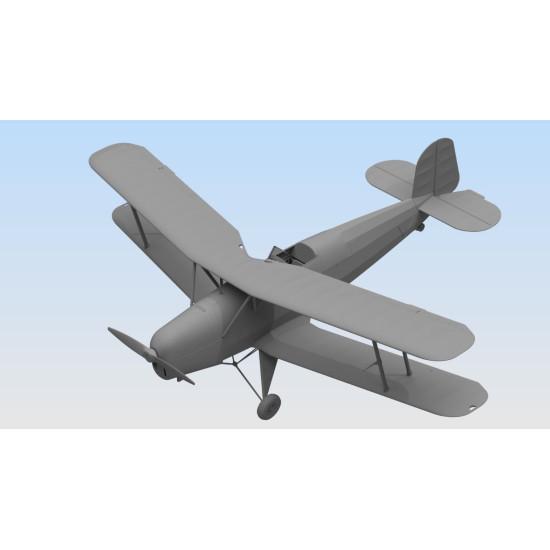 ICM 32031 - Bücker Bü 131B, German Training Aircraft 1/32 scale model kit 198 mm