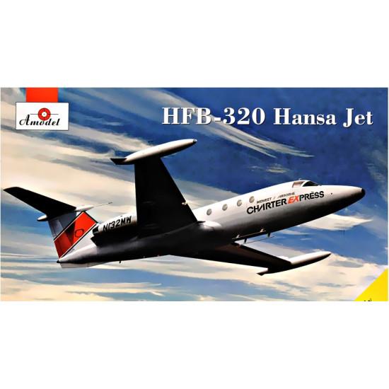 Plastic model kit HFB-320 HANSA JET HAMBURGER FLUGZEUGBAU GMBH 1/72 AMODEL 72365