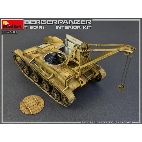 Miniart 35238 - BERGEPANZER T-60 (r) INTERIOR KIT WW II Military Miniatures 1/35