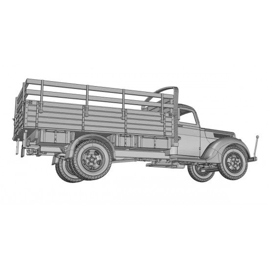 ACE 72576 1/72 scale MODEL: V-3000 GERMAN 3 TON TRUCK (EARLY FLATBED) World War II