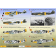 DECAL FOR AIRPLANE MESSERSCHMITT BF 109 F-4 1/144 PRINT SCALE 144-020
