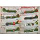 DECAL FOR AIRPLANE POLIKAROV I-16 1/144 PRINT SCALE 144-021
