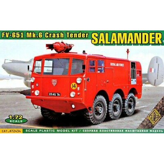 ACE72434 - FV-651 Salamander Crash Tender Model kits