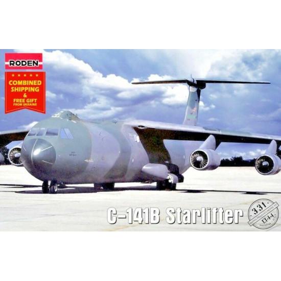 Lockheed C-141B Starlifter 1/144 Roden 331