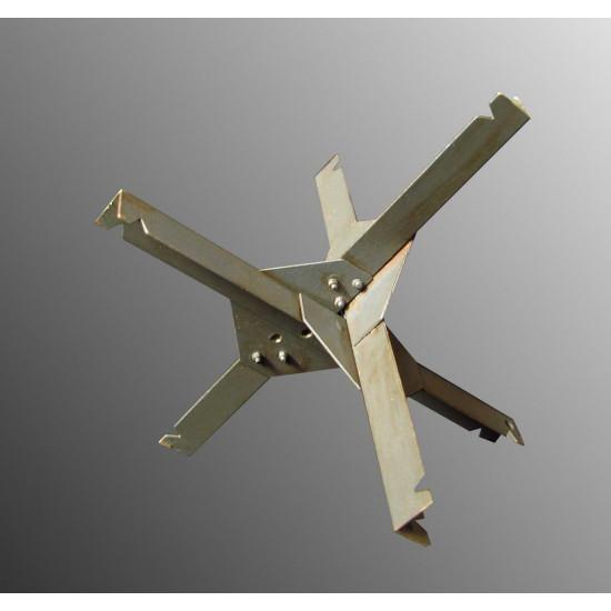 Photo-etched set Czech hedgehog 1/35 Metallic Details MD3502