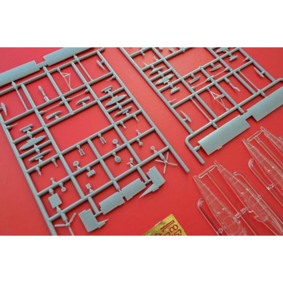 PLASTIC MODEL PILATUS PORTER AU23 & PC-6 (2 KITS IN BOX) SET1 1/144 BPK 14403