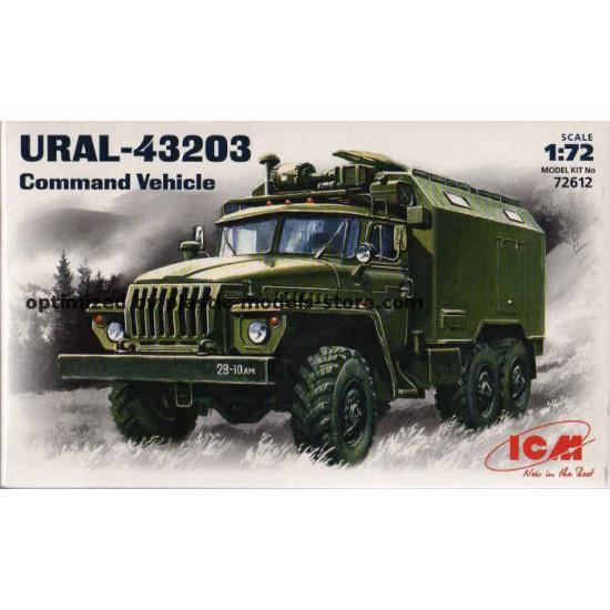 1/72 Ural-43203 Soviet Command Vehicle ICM 72612