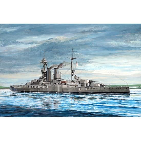 HMS WARSPITE 1915 SCALE MODEL KIT 1/35 TRUMPETER 05780