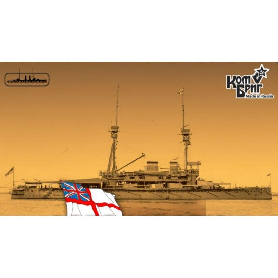 HMS LORD NELSON BATTLESHIP, 1908 (FULL HULL VERSION) 1/350 COMBRIG 3521FH