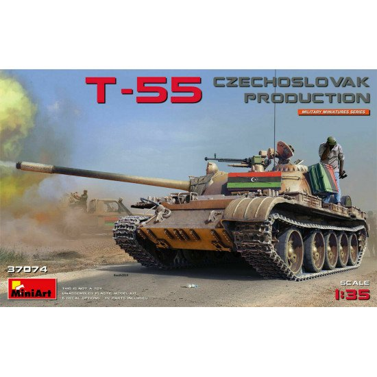 Miniart 37074 - 1/35 Tank T-55 (Czechoslovak Production)