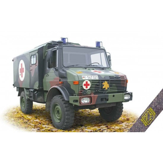 ACE 72451 - 1/72 –U1300L 4x4 Krankenwagen Ambulance plastic model kit