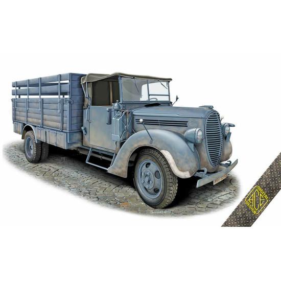 ACE 72575 - 1/72 - G917T 3t German Cargo truck (simplified cab) model