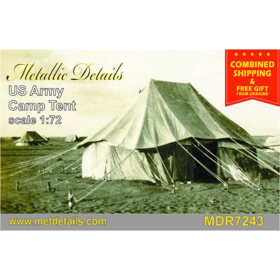 Metallic Details MDR7243 - 1/72 - U.S. Army camp tent 1 pcs.