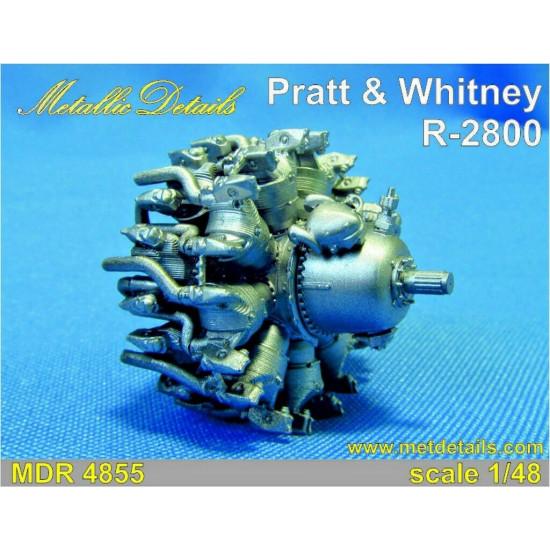 Metallic Details MDR4855 - 1/48 - Pratt & Whitney R-2800 Photo-etched