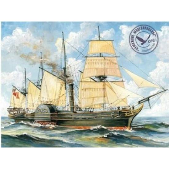 Wooden veneer decks for Orel 292/3 Passenger ship Great Western 1/200 Civil Fleet