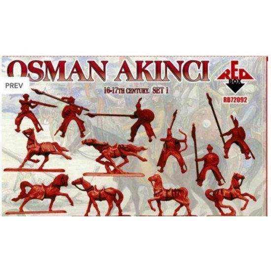 Bundle lot of Red Box Osman Akinci XVI-XVII Set 1,2 72092+72093 1/72 scale