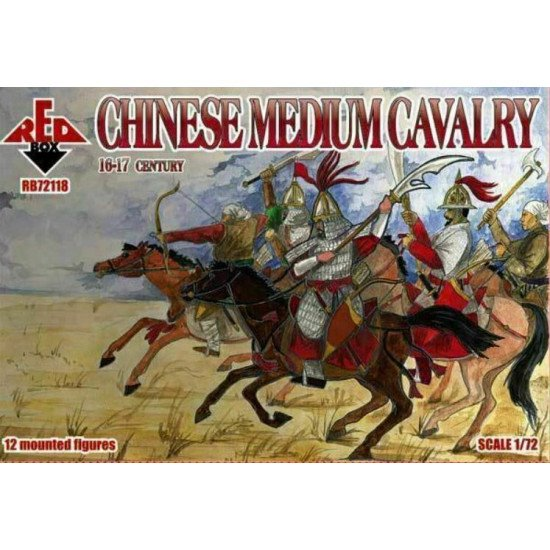 Bundle lot of Red Box Chinese Cavalry 72117+72118+72119 XVI-XVII cent 1/72 scale