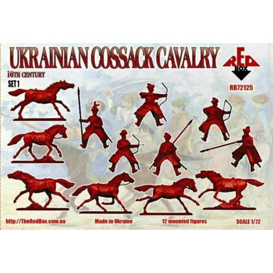 Bundle lot of Red Box Ukrainian Сossack Cavalry Set 1,2 72125+72126 1/72 scale