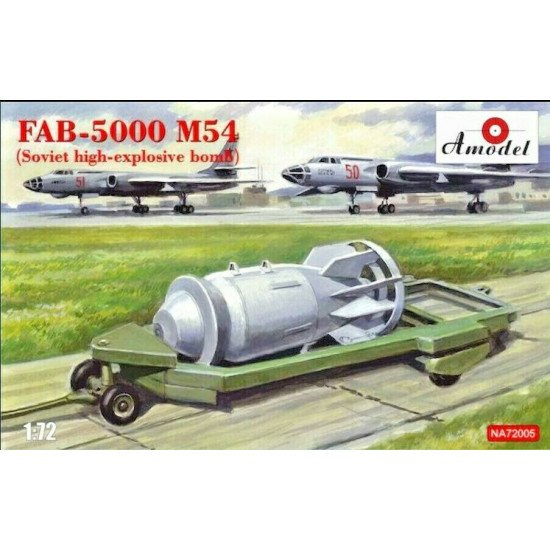 Amodel NA 72005 - 1/72 - FAB-5000 m54 High-explosive high-explosive bomb