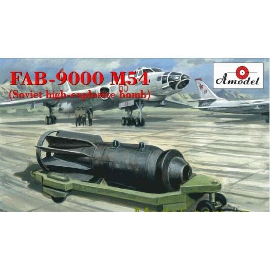 Amodel NA 72009 - 1/72 - FAB-9000 m54 High-explosive high-explosive bomb