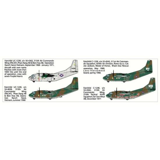 Roden 057 - 1/72 - Fairchild C-123K/UC-123K American special purpose aircraft
