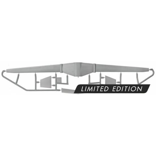 Sova Model SM72003 1/72 - N.Grumman Fireberd UAV scale model kit, Length 143 mm