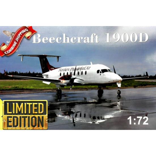 Sova Model SM72004 1/72  - Beech 1900D scale model kit, Length 244 mm