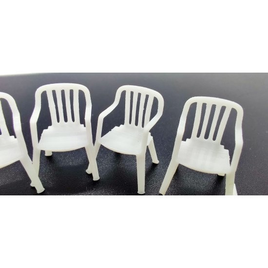 SDM 35001 - 1/35 - Table (2 pcs), chairs (8 pcs). Acccessories for diorama