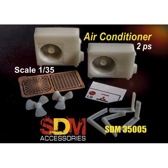 SDM 35005 - 1/35 - Air conditioners (2 pcs). Acccessories for diorama