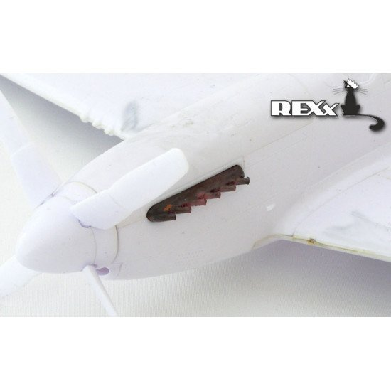 Accessories for P-51B,C,D with fairing 1/48 ReXx-48012 Branch pipe designed to be used with brand ICM, Tamiya kit
