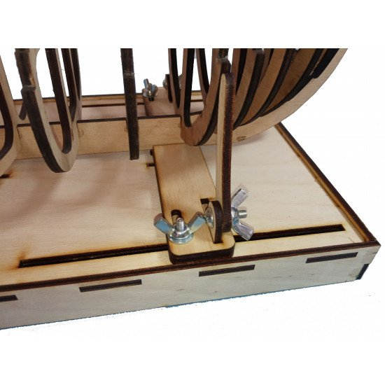 LMG BB-23 Sailboat stand, Laser Model Graving, Stand for models