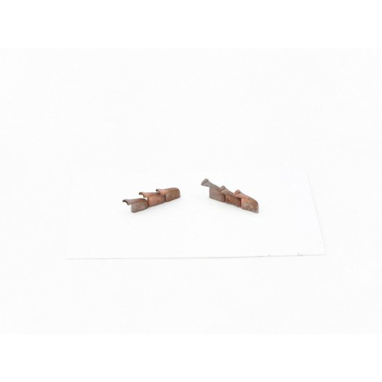 Exhaust Pipes for Spitfire Mk.V Airplane Univers. 1/72 REXx 72009 Branch Pipes