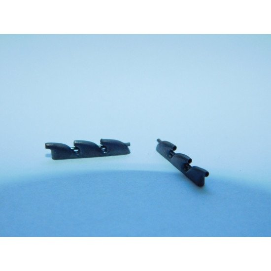 Exhaust Pipes for Devoitine D.520 Airplane univers. 1/72 REXx 72046 Branch Pipes