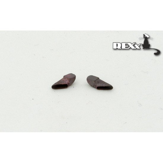 Exhaust Pipes for KV-1\2 late,KV-8\-85\-1s,SU-152 Tank univers. 1/35 REXx 35001 Branch Pipes