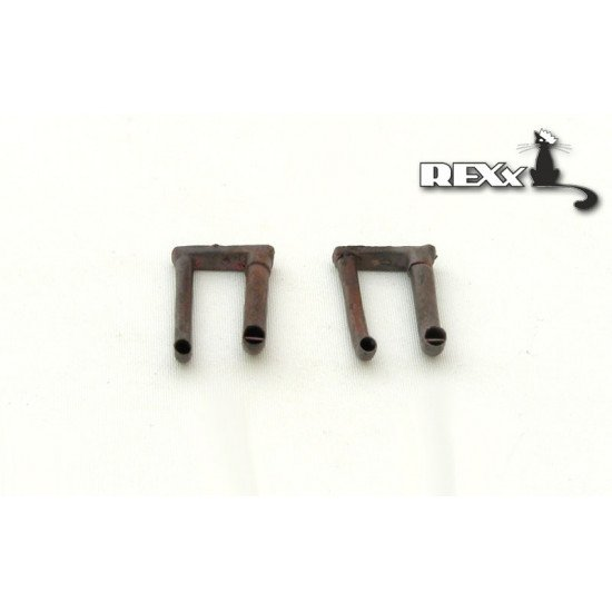 Exhaust Pipes for Pz.Kpfw.V Ausf.A with cooling sys Tank univers. 1/35 REXx 35004 Branch Pipes
