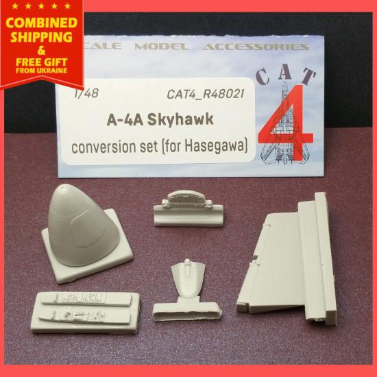 CAT4 R48021 - 1/48 Douglas A-4A Skyhawk Conversion Resin Set for Hasegawa USN