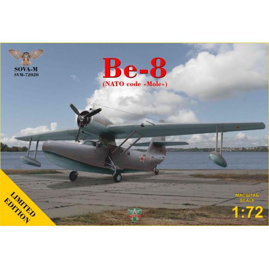 Sova Model 72020 - 1/72 - Be-8 passenger amphibian aircraft