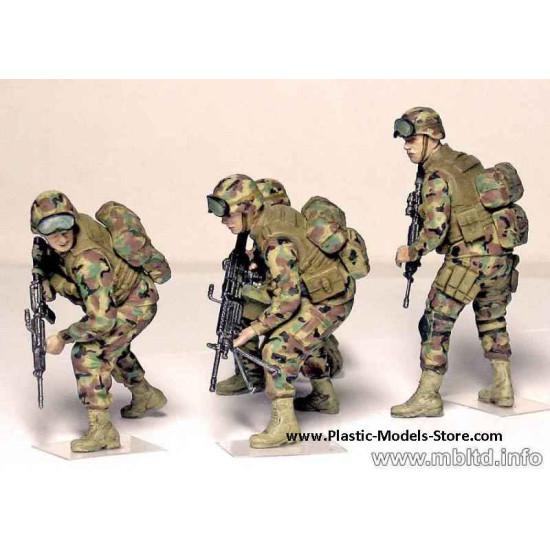 Iraq. Kit #1 US Troops 4 figures 1/35 Master Box 3575