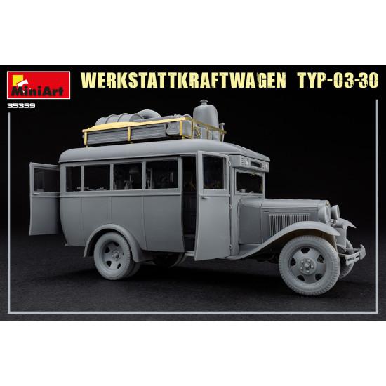 Miniart 35359 - 1/35 - WERKSTATTKRAFTWAGEN TYP-03-30. Mobile auto repair shop