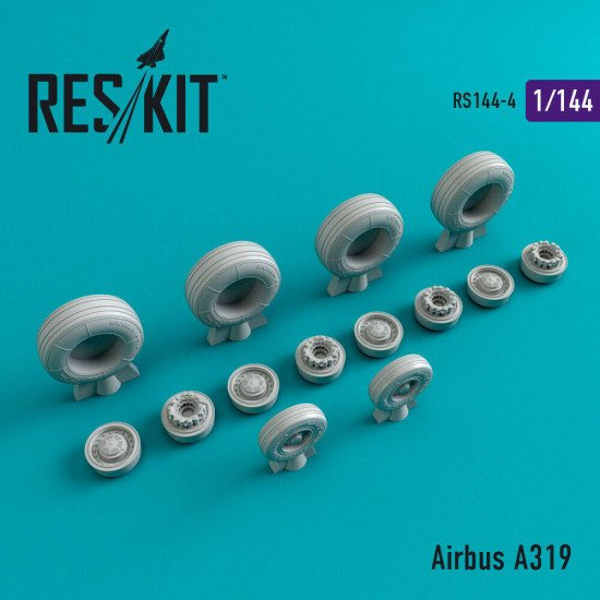 Reskit RS144-004 - 1/144 Airbus A319 scale model Resin Detail Upgrade set