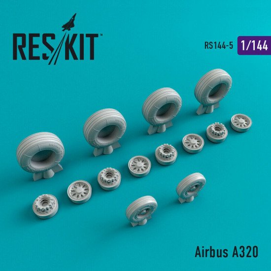 Reskit RS144-005 - 1/144 Airbus A320 scale model Resin Detail Upgrade set