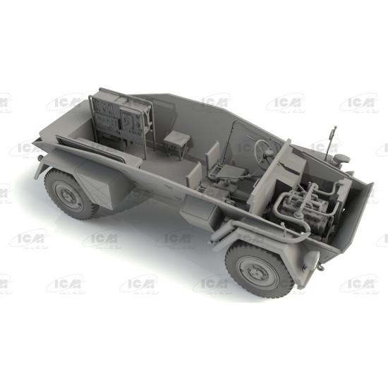 ICM 35110 - 1/35 - Sd.Kfz. 247 Ausf.B, German Command Armoured Vehicle