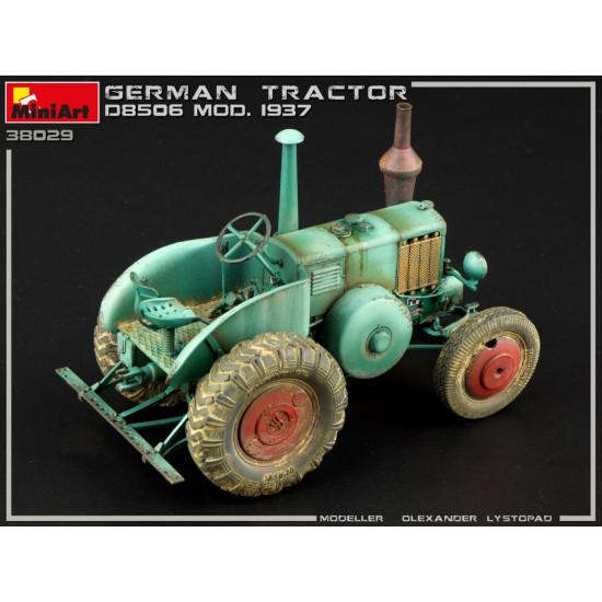 Miniart 38029- 1/35 German tractor d8506 mod. 1937 scale model kit