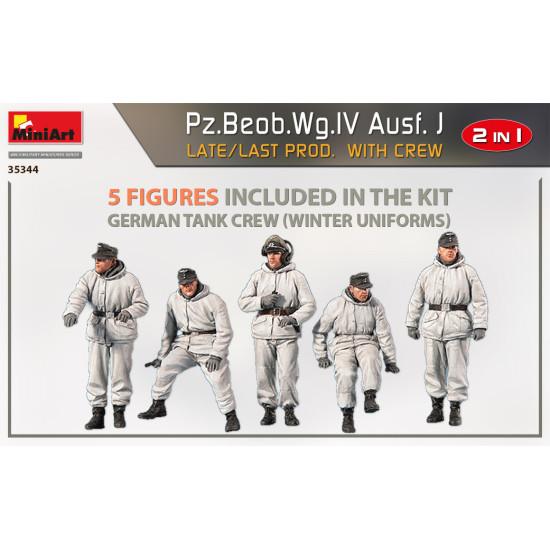 Miniart 35344 - 1/35 Pz.Beob.Wg.IV Ausf. J late/last prod. 2 in 1 W/Crew scale