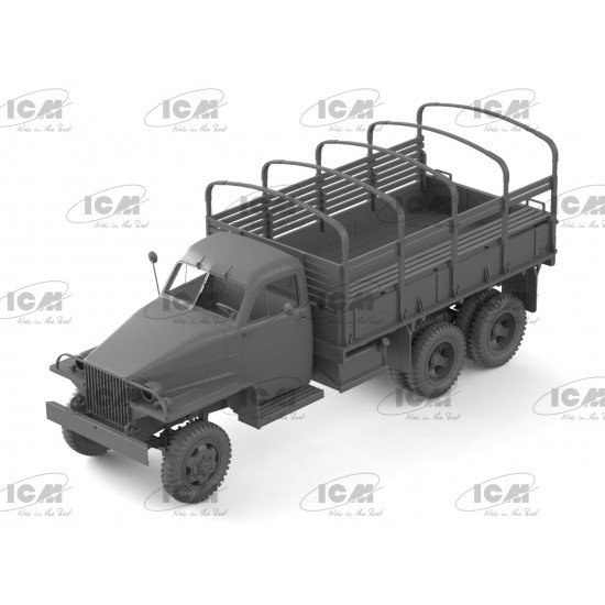 ICM 35510 - 1/35 II MB Studebaker US6 with Soviet drivers WWII 1941-1945