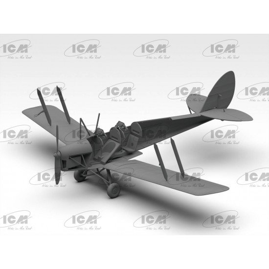 ICM 32035 - 1/32 - De Havilland DH.82A Tiger Moth British trainer aircraft