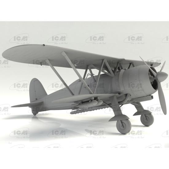 ICM 32020 - 1/32 - CR. 42 Falco , WWII Italian fighter scale plastic model kit