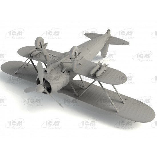 ICM 32020 - 1/32 - CR. 42 Falco , WWII Italian fighter scale plastic model kit